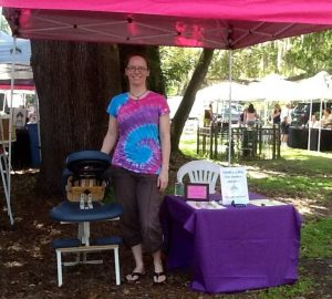 Chair Massage at Ancient Oaks Market